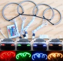 BMW Angel Eyes kit barevné RGB LED